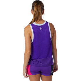 New Balance Printed Fast Flight Tank Women deep violet heather